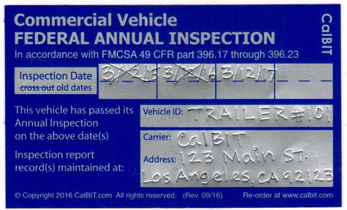 Reusable_Annual_Inspection_FMCSA_Sticker_500x302 Where To Get Wiring Permit on